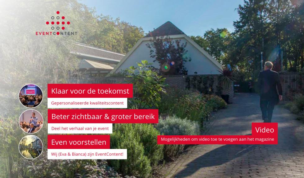 Fotograaf Utrecht - EventContent cover magazine