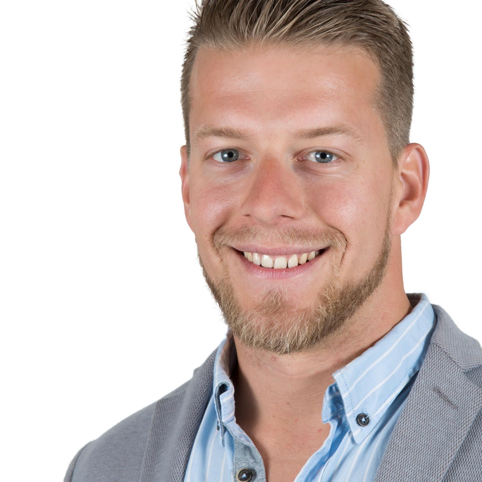 Bfoto Utrecht Fotograaf studio portret LinkedIn profielfoto dagen Jens