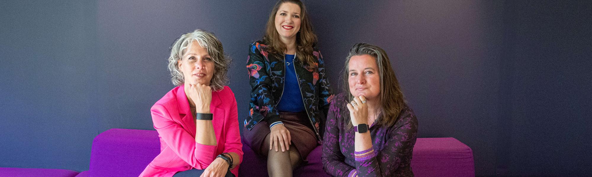 Trudy, Lisette en Bianca van Be Remarkable helpen jouw graag met je branding